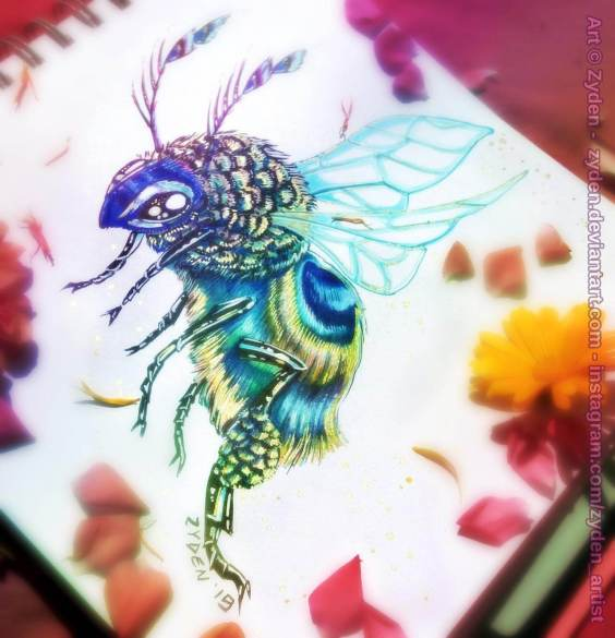 peacock_honey_bee_by_zyden